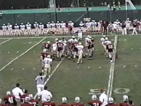 MIT Football vs Mass Maritime 2005
