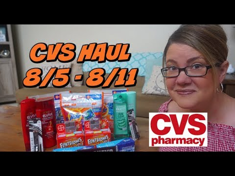 CVS HAUL 8/5 - 8/11 | MUST COUPON WEEK!