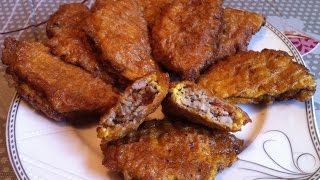 Бризоли В Вафельках/Бризоль/Brizol(Быстро и Вкусно)Простой Пошаговый Рецепт