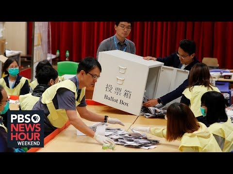 Hong Kong's Local Polls Test Support For Ongoing Protests