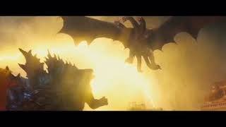 Godzilla king of the monsters fan made clip (Battle of the century)