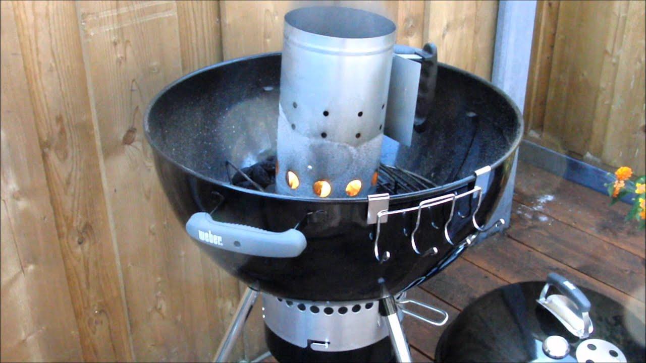 Barbecue aanmaak koker