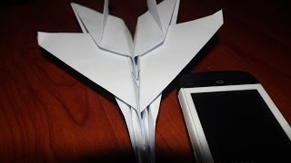 Origami F15 Fighter Jets Paper Plane