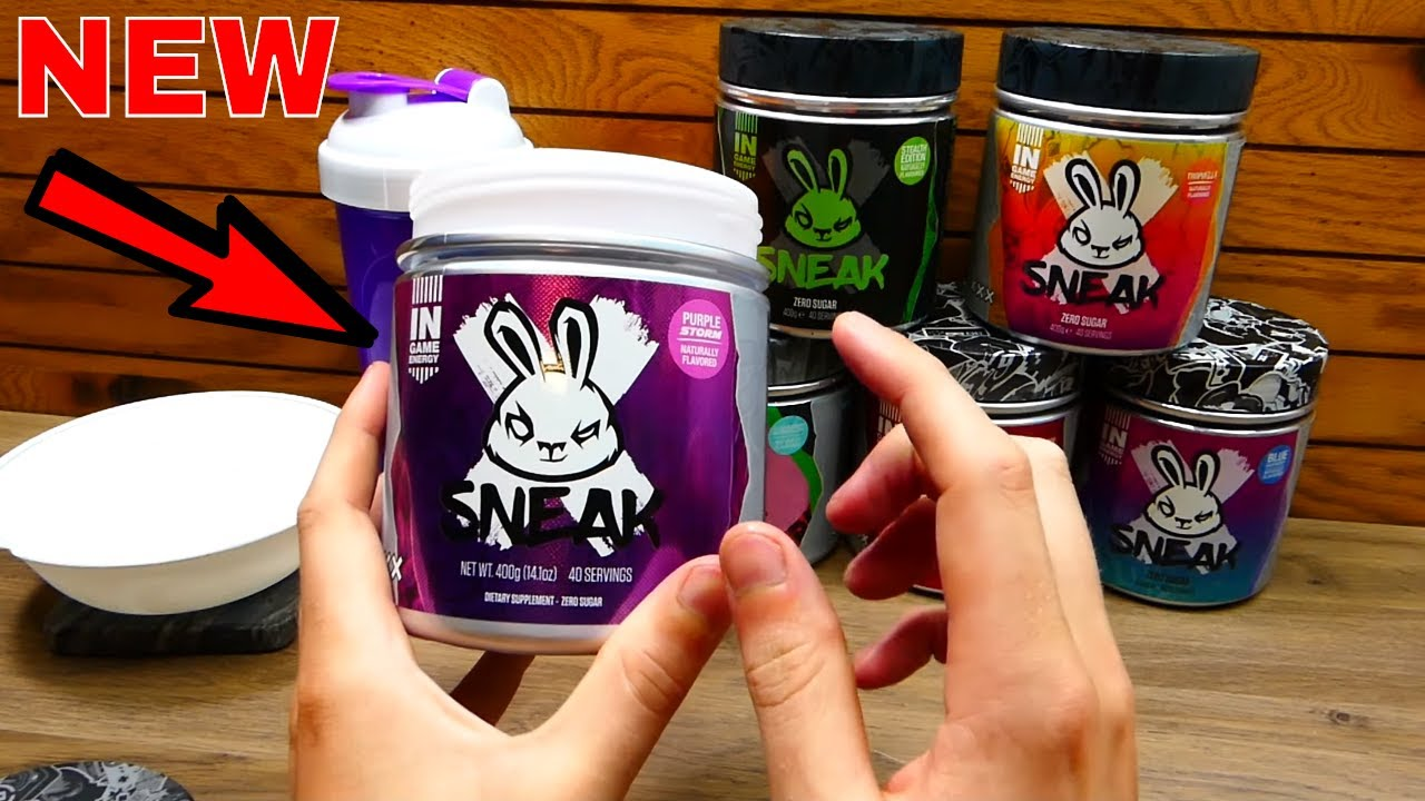 Download New PURPLE STORM Gaming Energy Drink! [SNEAK ENERGY] - Review/Taste Testing