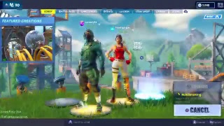 Fortnite but a bot plays.