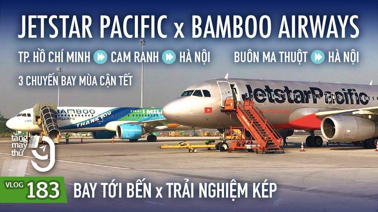 [M9] #183: Mùa Tết vé đắt nên phải bay vòng cho rẻ | Jetstar Pacific x Bamboo Airways | Yêu Máy Bay