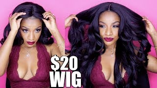 You Need this $20 Wig! How to Slay CHEAP Synthetic Wigs