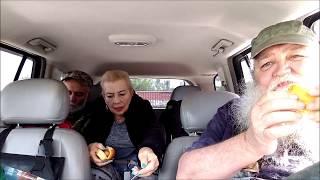 Hotdogs and sauerkraut in the Roadpro 12v Portable stove