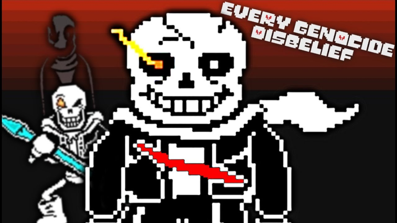SANS REBORN WILL HAVE HIS REVENGE!!   Every Genocide