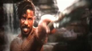 BLACK PANTHER (2018): KILLMONGER VS BLACK PANTHER .......  FIGHT SCENE  
