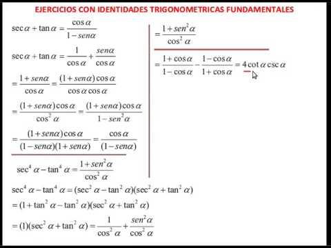 ejercicios resueltos de identidades trigonometricas pdf