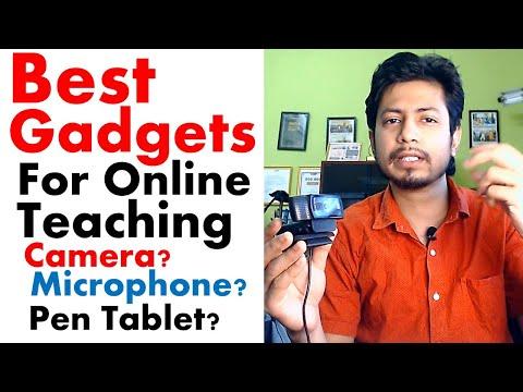 How to teach online classes | online teaching gadgets for teachers