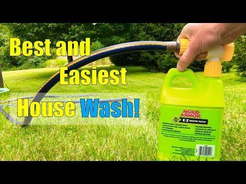 EZ House Wash The Best Vinyl Siding Cleaner! Mold Armor