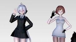 [MMD]1603 TDA Uniform Haku,Tori,Yoru&Meiko Hot Dance Bo Peed Bo Peed [DL][1080P,60FPS]