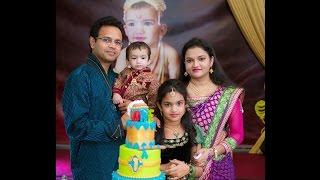 Adhvik's 1st Birthday Celebrations! Baby Krishna Theme Birthday Party!