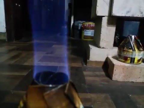 Rocket Alcohol Stove Complete Carbon Combustion - High Manufacture