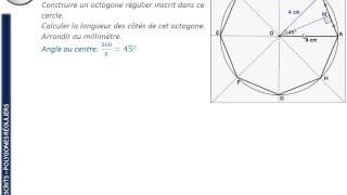 comment construire octogone