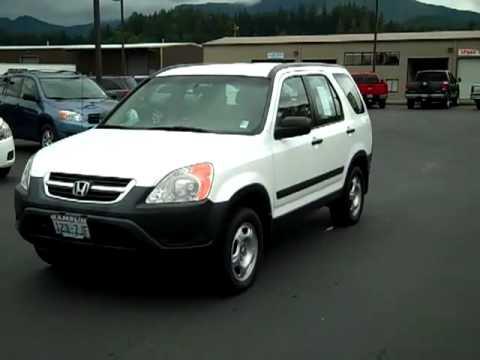 2002 Honda CRV FWD Automatic White Enumclaw Seattle Puyallup
