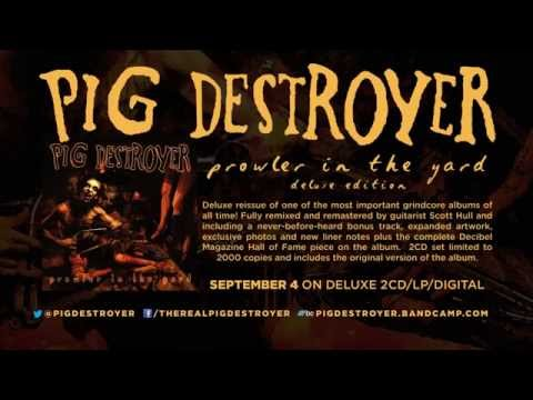 PIG DESTROYER - 'Prowler In The Yard' Deluxe Reissue (Official Trailer)