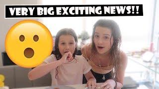 Very Big Exciting News  WK 381.2 Bratayley