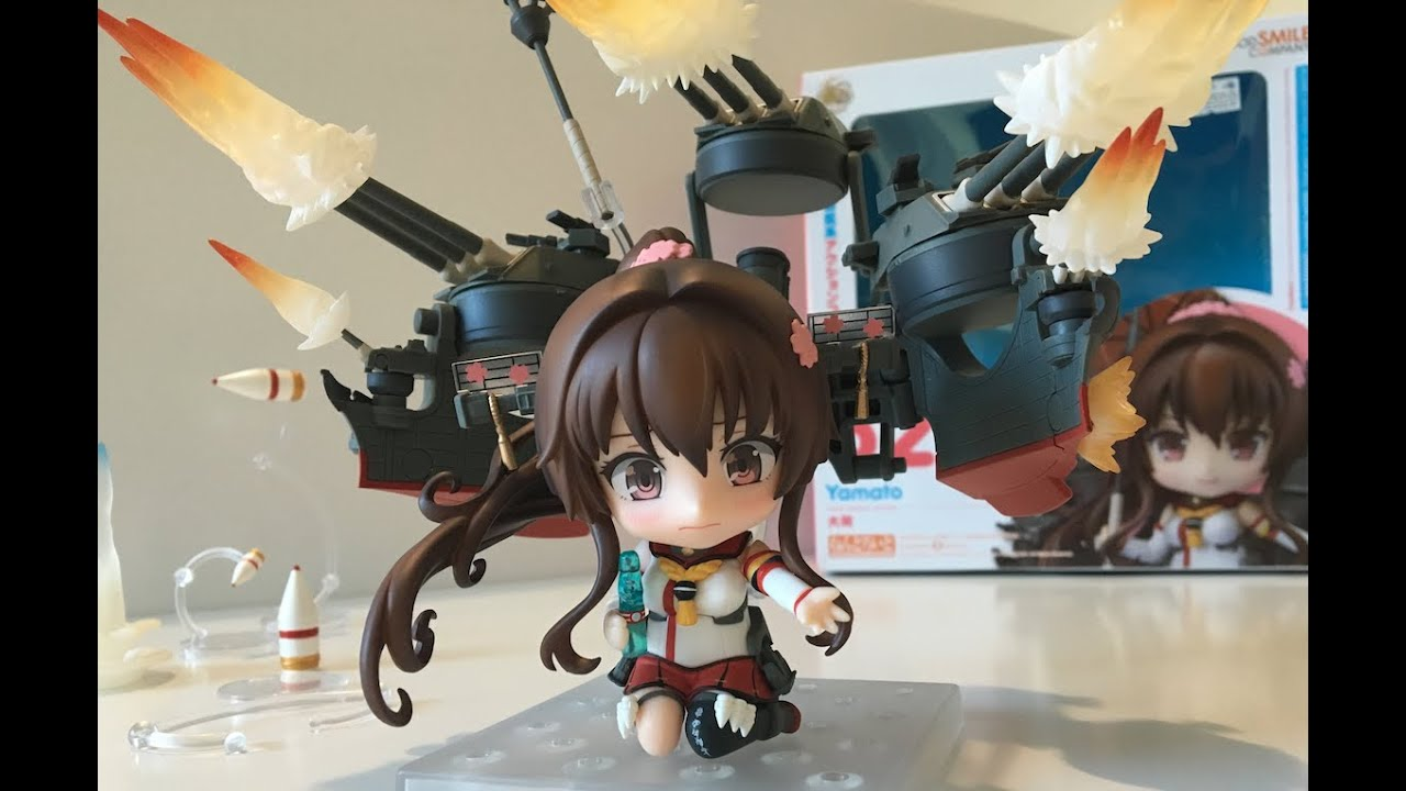 FROM JAPAN Nendoroid 520 Yamato Kantai Collection Kan Colle Good Smile Company