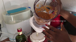 homemade baby food, carrots tomato, and zucchini Vlog 4