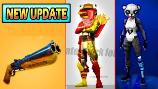 *NEW* MASSIVE UPDATE COMING! Durrburger Skin, Heavy Sniper, Break-barrel Shotgun (Fortnite Leaks)