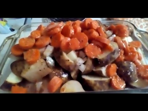 Casondra's Organic Kitchen - Episode 1 - One Pot Chicken, Potatoes, Carrots and Onions