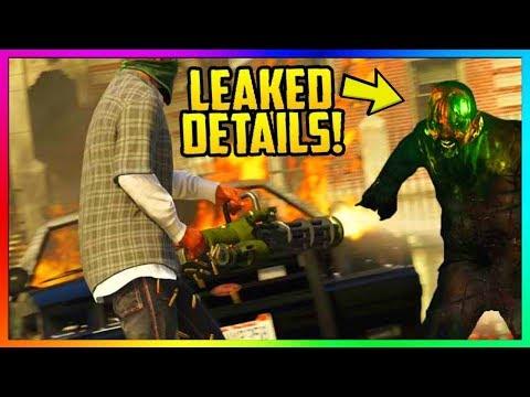 GTA ONLINE ZOMBIE DLC COMING SOON!!! - LEAKED SECRET PROPS & IMAGES!? (GTA 5 Online News)