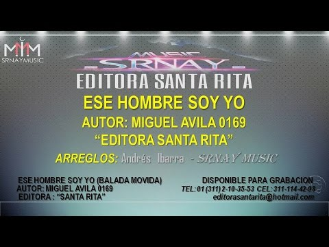 ESE HOMBRE SOY YO (BALADA INEDITA) HD - YouTube