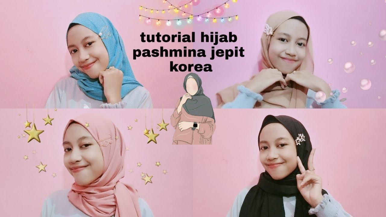 Style Hijab Pakai Jepit Rambut