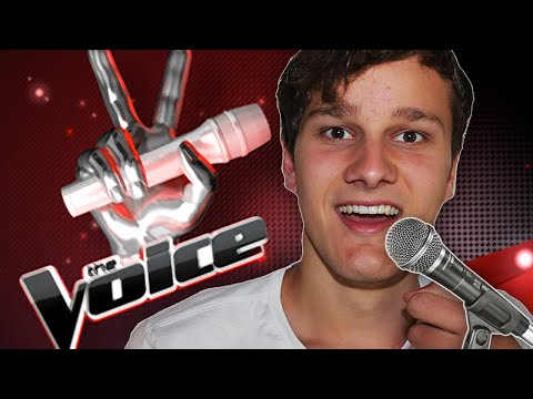 THE VOICE: AUDITIE VIDEO! - Karaoke Party ft. JustRonald