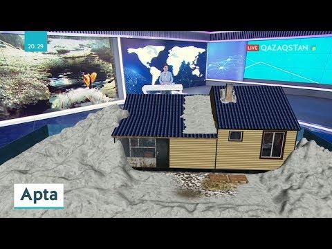 Видео: Қарағанды облысында 7 ауданды су басу қаупі бар