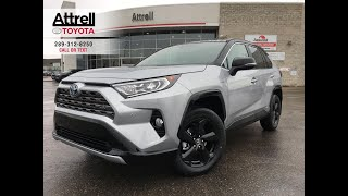 2019 Toyota RAV4 Hybrid XSE TECHNOLOGY Walkaround - Brampton ON - Attrell Toyota