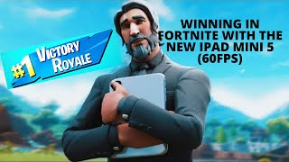WINNING in FORTNITE with the NEW IPAD MINI 5 (60FPS)