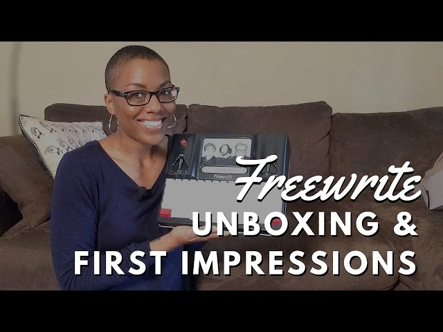 Freewrite Unboxing & First Impressions