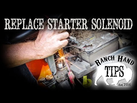 Husqvarna Riding Mower Replace Starter Solenoid - Ranch Hand Tips from YouTube · Duration:  5 minutes 39 seconds