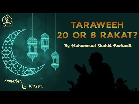 Misconceptions about Taraweeh: Taraweeh 8 or 20 Rakat hain