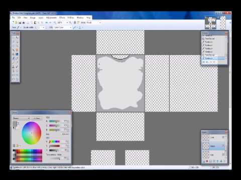 How to Make a Basic ROBLOX Shirt - YouTube