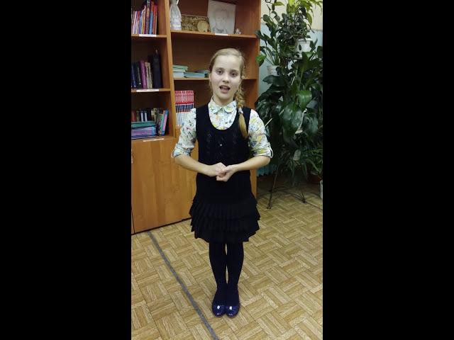 Изображение предпросмотра прочтения – ВикторияНикулина читает произведение «Свинья под дубом» И.А.Крылова
