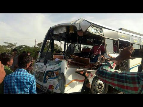 Recently ASM anthiyur bus accident in coimbatore Bybass 24.07.2017