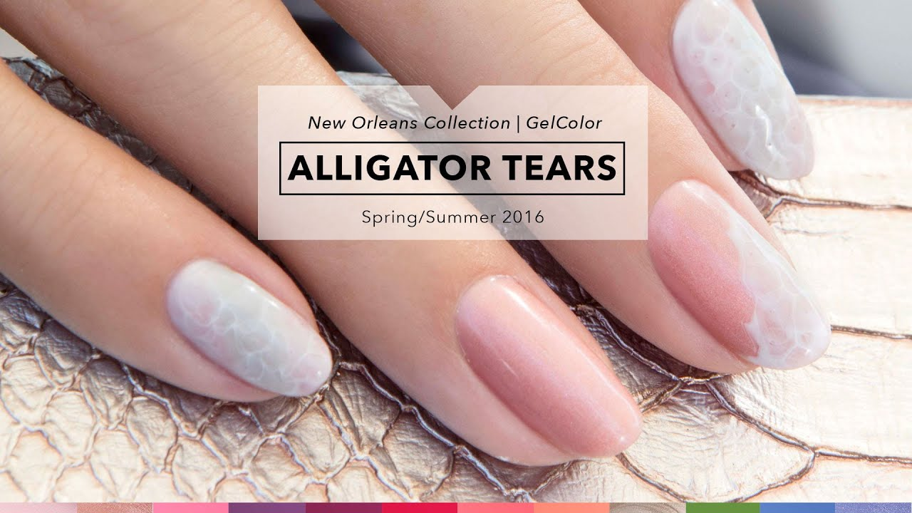 OPI GelColor Tutorial | New Orleans Collection | Alligator Tears ...