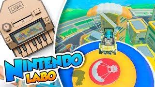 ¡El viajero cansino! - 07 FIN - Nintendo Labo (Vehiculos) DSimphony