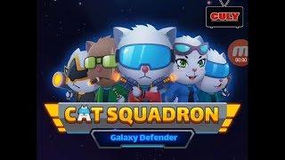 Trò chơi Biệt  Đội Mèo diệt chuột bảo vệ dải ngân hà cat squadron cu lỳ chơi game vui nhộn