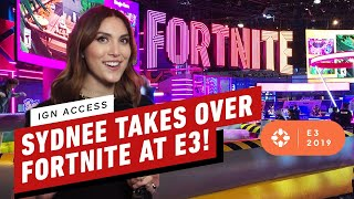 Fortnite Fan Get's An EPIC Surprise! - IGN Access