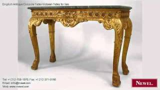 English Antique Console Table Victorian Tables For Sale