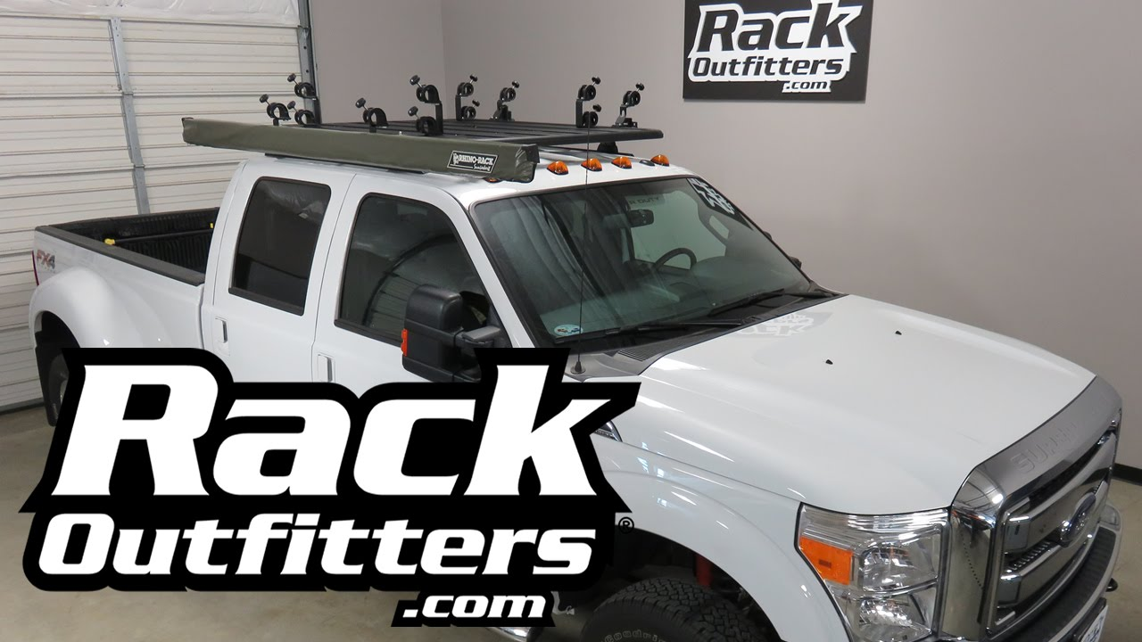 Ford F350 Outfitted With Rhino Rack Pioneer Tray