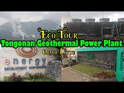 Ecotour at TONGONAN GEOTHERMAL POWER PLANT in Ormoc City, Leyte