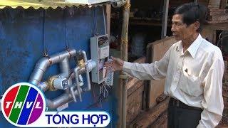 THVL   Lão nông sáng chế hệ thống tưới nước kết hợp bón phân qua đường ống