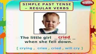 Simple Past Tense Regular Verbs | English Grammar Exercises For Kids | English Grammar For Children